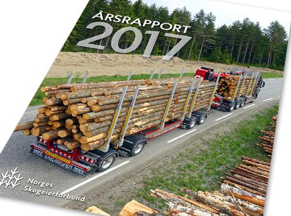 Skogeierforbundets årsrapport 2017.