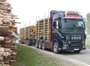 Flere veier godkjent for tunge vogntog