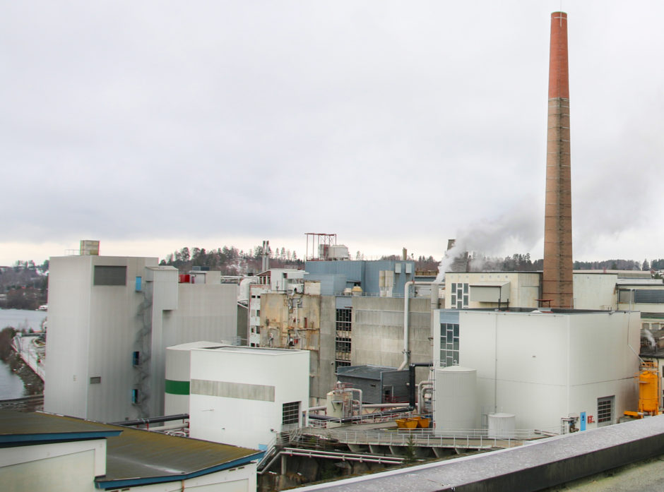 Treklyngen ønsker å utvikle fremtidens skogindustri her på tomta til Follum Fabrikker ved Hønefoss. At maskinskatten nå fjernes, gjør at Follum blir mer attraktiv i konkurranse med utenlandsk lokalisering av ny industri.
