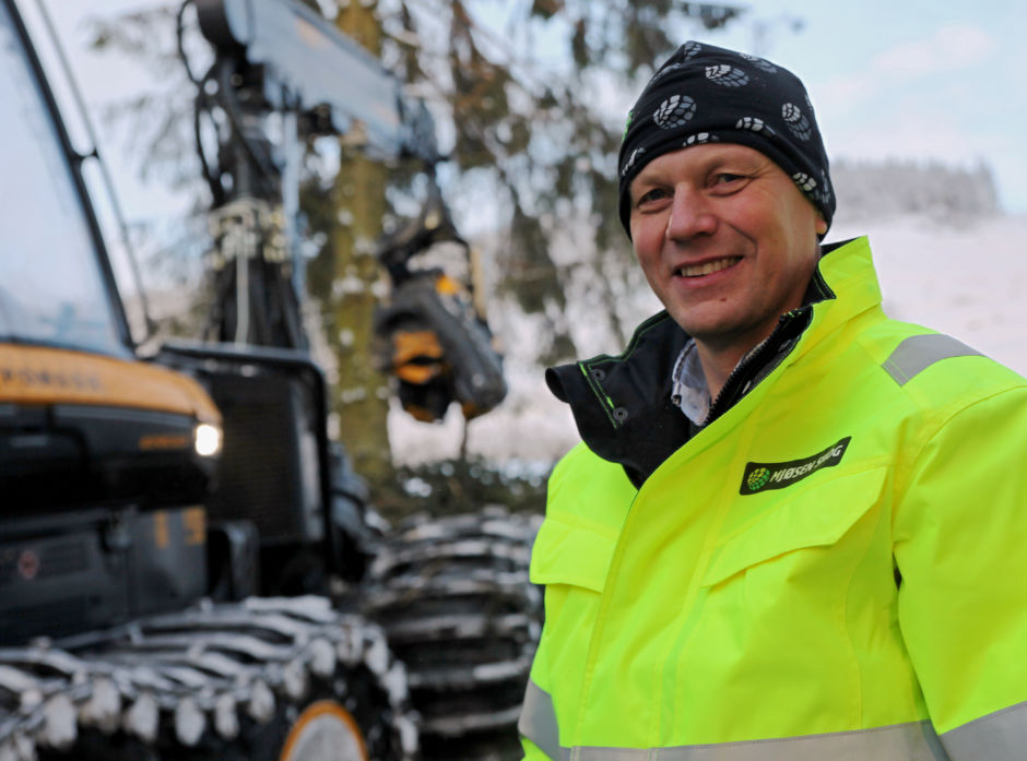 - Jeg har alltid vært interessert i skogbruk, sier ny administrerende direktør i Mjøsen Skog, Steffen Skolseg.