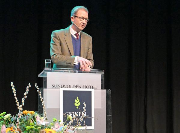 Idar Kreutzer i Finans Norge ledet utvalget for grønn konkurransekraft.