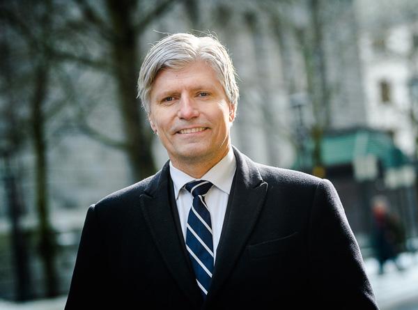 Klima- og miljøminister Ola Elvestuen (V).