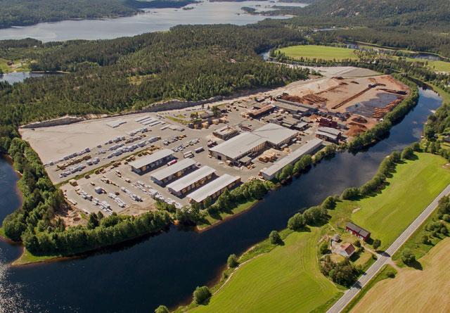 Biozin vil bygge sin fabrikk for produksjon av bioråolje ved siden av Bergene Holm Nidarå.