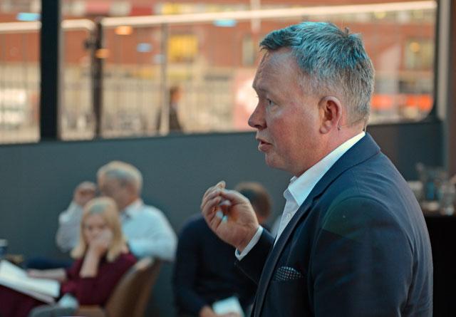 Olav A. Veum forteller om nysatsingen Shelterwood på Zero-konferansen 2018.