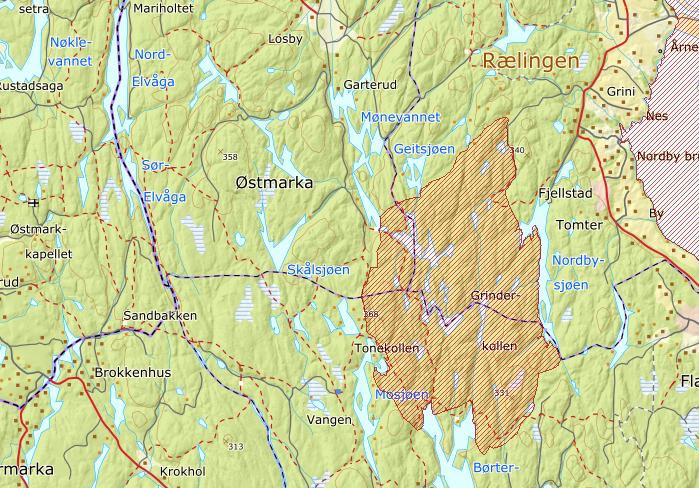 Deler av Østmarka innfrir kravene til å opprette nasjonalpark.