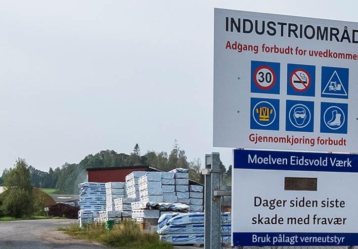 Moelven Eidsvoll Værk legger ned driften. Foto: Moelven.