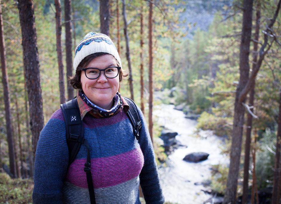 Lotta Haikkonen jobber for nordiske skogeiere i EU. Foto: privat.