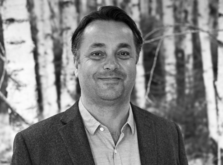 Anders R. Øynes er administrerende direktør i AT Skog.